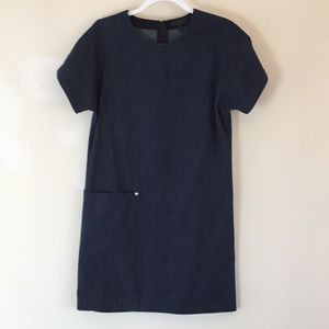Rag & bone denim shift dress X S